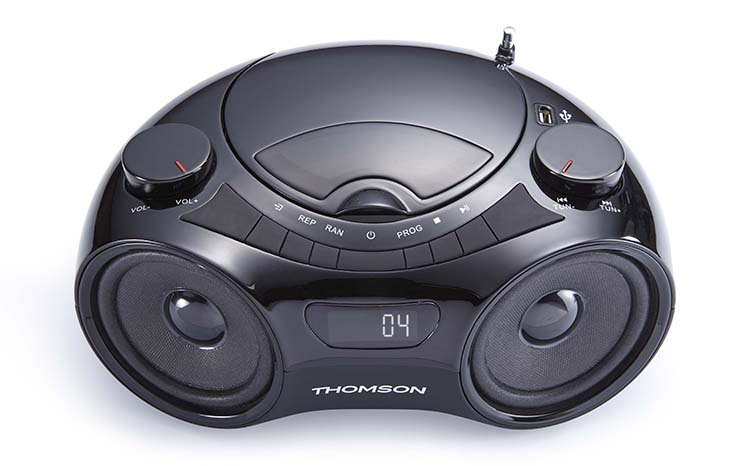 THOMSON CD-MP3 Portable Speaker - Immagine