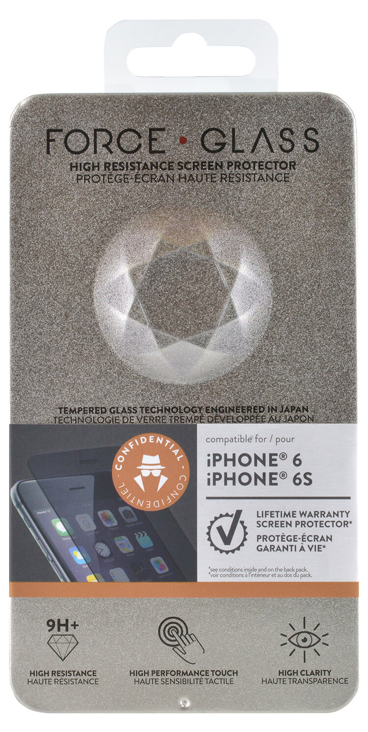 The tempered glass screen protector FORCE GLASS (private) - Immagine