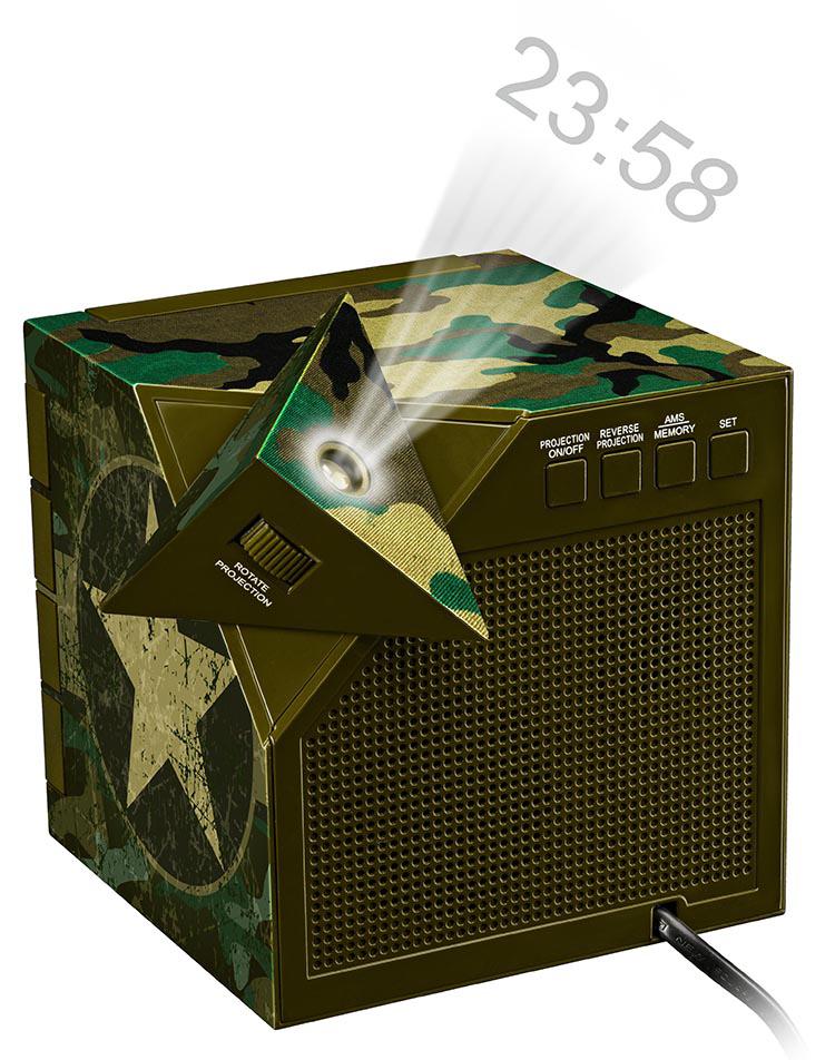 Radiosveglia con proiettore - Immagine #2