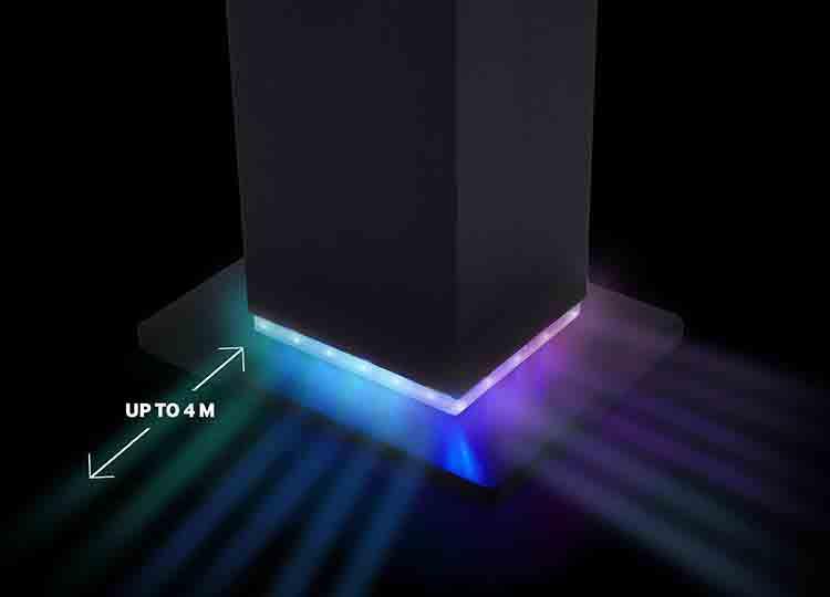 Torre Multimediale Luminosa - Immagine #2