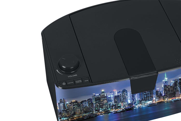 Radio Lettore CD portatile Bluetooth®  NY by night - Immagine #3
