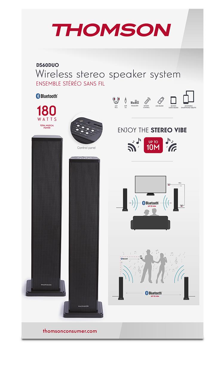 Sistema Stereo Wireless THOMSON - Immagine#2tutu#3