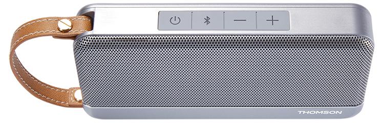 THOMSON Speaker Wireless Portatile (argento) - Immagine#1