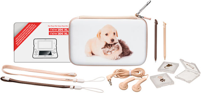 "Pack essential"" for Nintendo New 2DS™ XL/ Nintendo New 3DS™ XL""(limited edition""baby animals"") - Packshot"