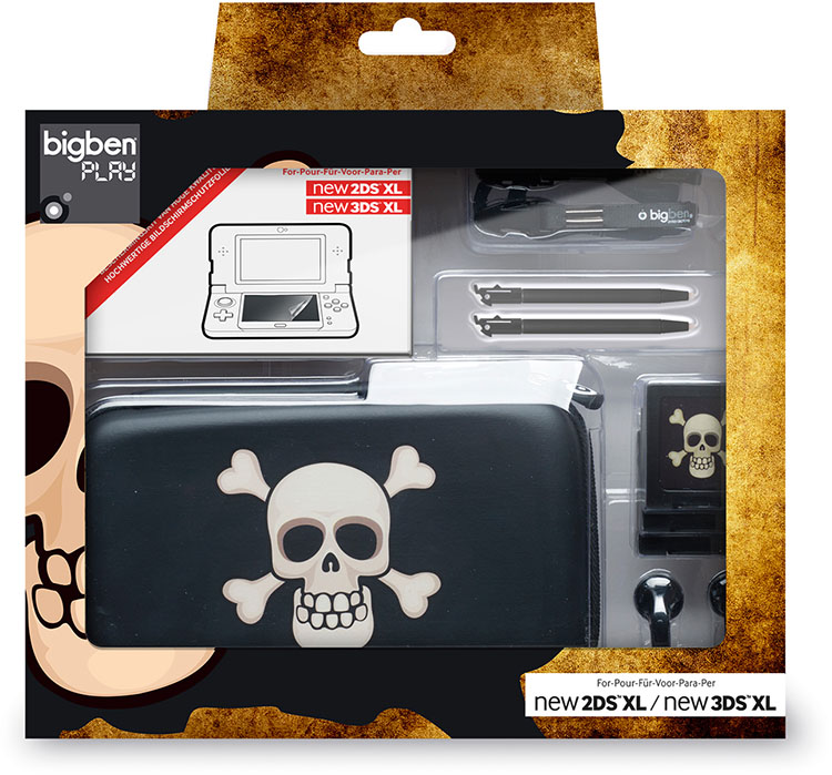 "Pack essential"" for Nintendo New 2DS™ XL/ Nintendo New 3DS™ XL""(limited edition""pirate"") - Immagine#1"