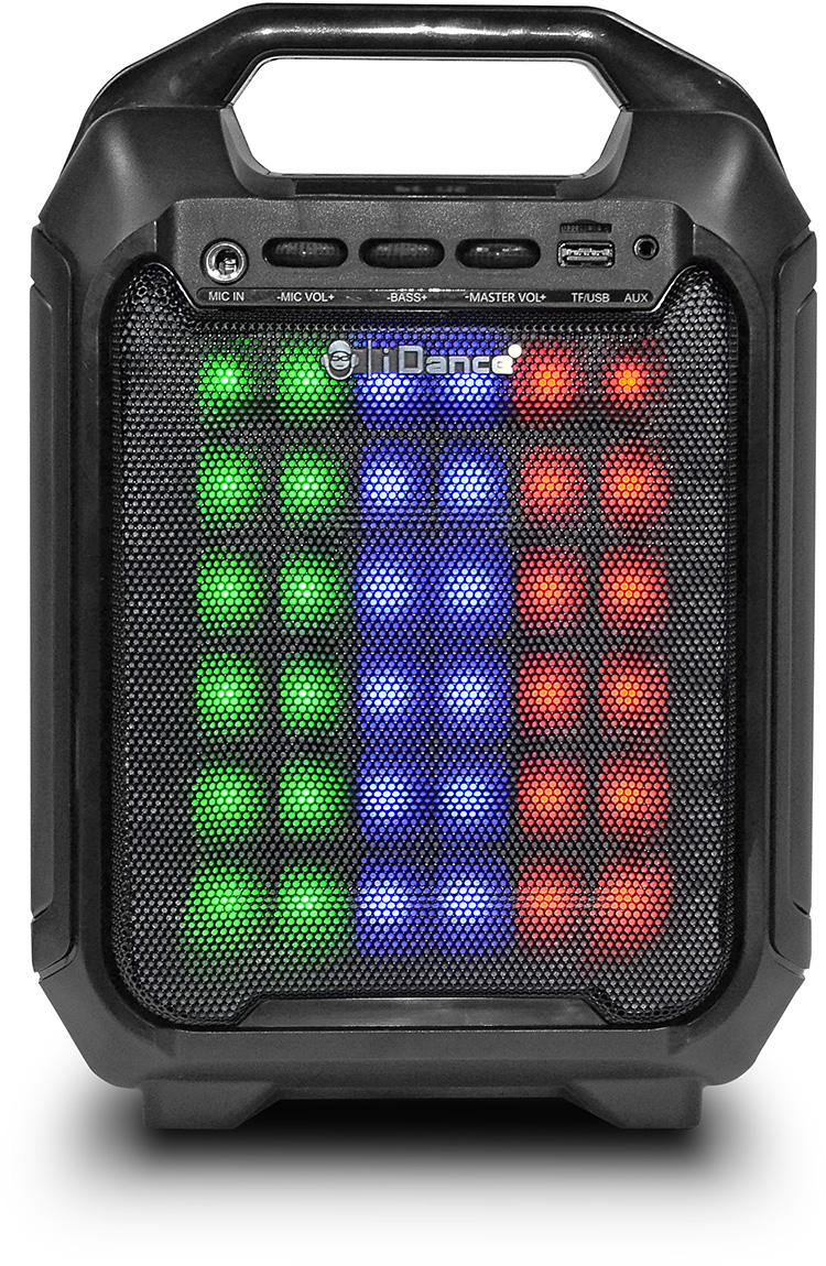 Bluetooth party system with built-in light show BLASTER10 I DANCE - Packshot