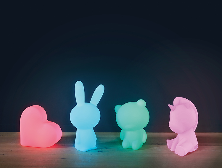 Wireless Luminous speaker Lumin'us (unicorn) BTLSUNICORN BIGBEN - Immagine#2tutu#4tutu#6tutu#8tutu#10tutu#11