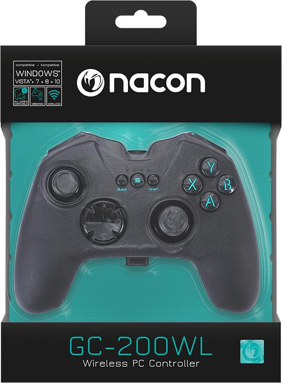 GC-200WL Wireless PC Game Controller PCGC-200WL NACON - Immagine#2tutu