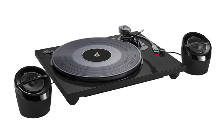 Turntable & speakers TD114NSPS BIGBEN - Immagine#1