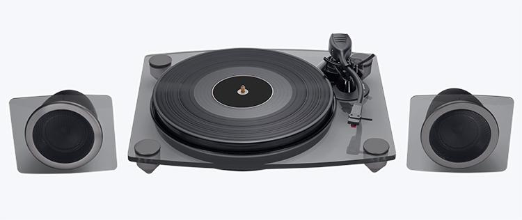 Turntable & speakers TD115NSPS BIGBEN - Immagine#1