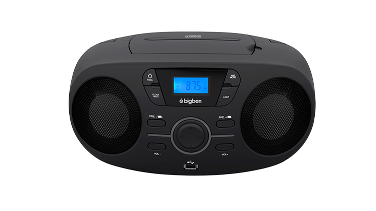 Portable CD/USB player with light effects CD61NUSB BIGBEN - Immagine#1