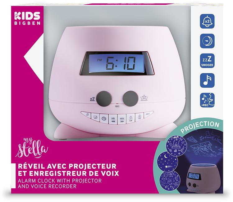 Alarm clock with projector(my Stella) - Immagine#2tutu#4tutu#6tutu