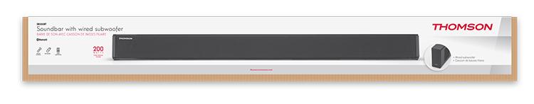 Soundbar with wired subwoofer - Immagine#2tutu#4tutu#6tutu