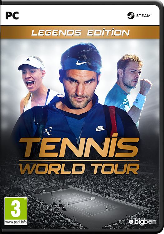 Tennis World Tour Legends Edition - Packshot