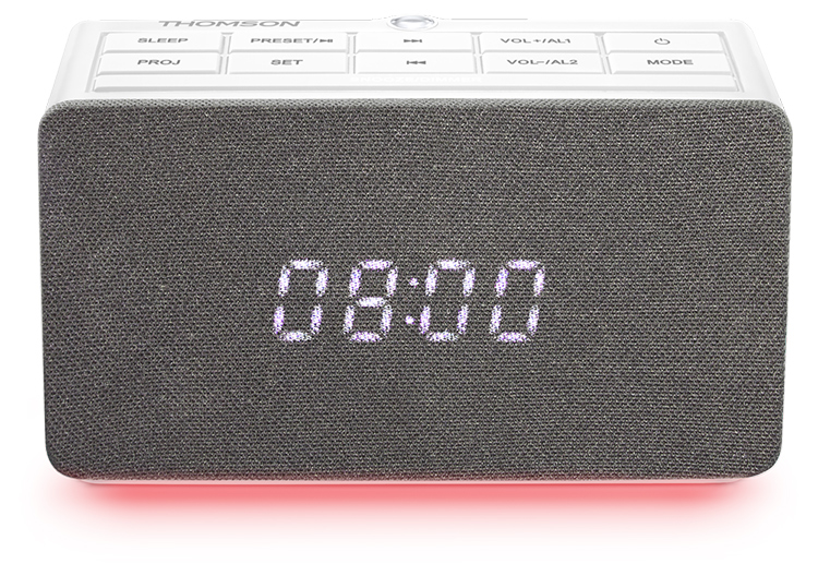 Alarm clock radio with projector CL301P THOMSON - Immagine