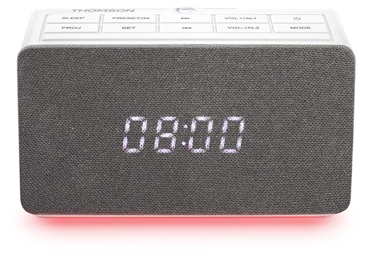 Alarm clock radio with projector CL301P THOMSON - Immagine