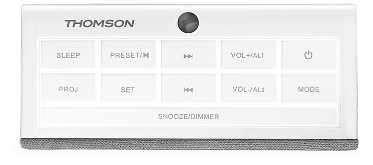 Alarm clock radio with projector CL301P THOMSON - Immagine#1
