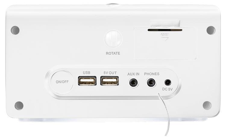 Alarm clock radio with projector CL301P THOMSON - Immagine#2tutu#4tutu