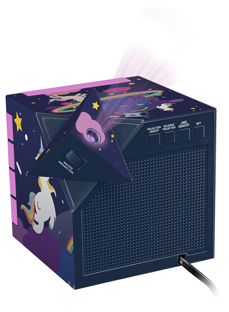 Dual radio alarm clock with projector RR70PUNICORN BIGBEN KIDS - Immagine#2tutu