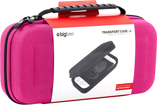 Rigid transport case SWITCHPOUCHLPINK BIGBEN - Immagine#1
