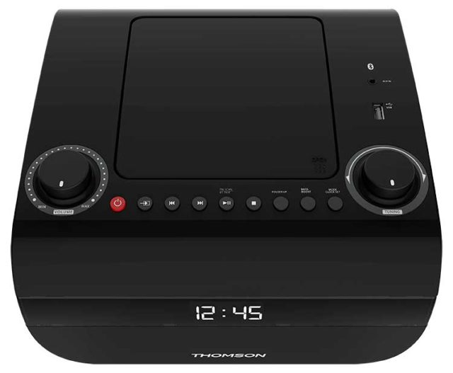 CD/MP3/USB/RADIO portable player RCD305UBT THOMSON - Packshot