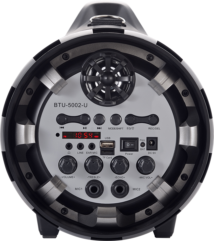 Wireless Ghetto Blaster with lights BT50ARMY BIGBEN - Immagine#2tutu#3