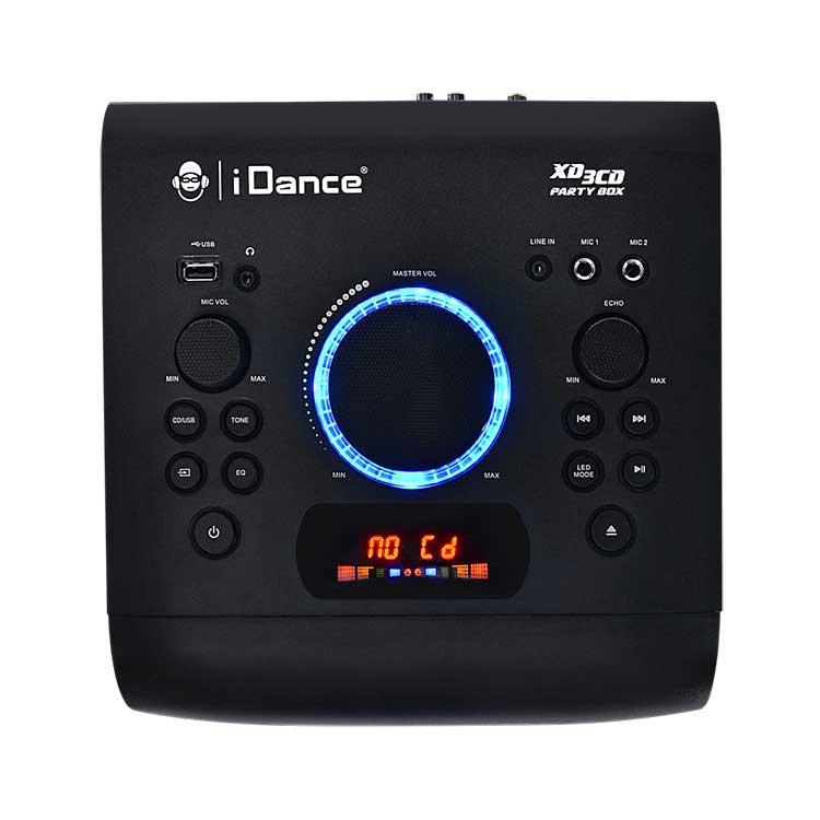 All-in-one bluetooth system + CD player XD3CD I DANCE - Immagine#2tutu#4tutu