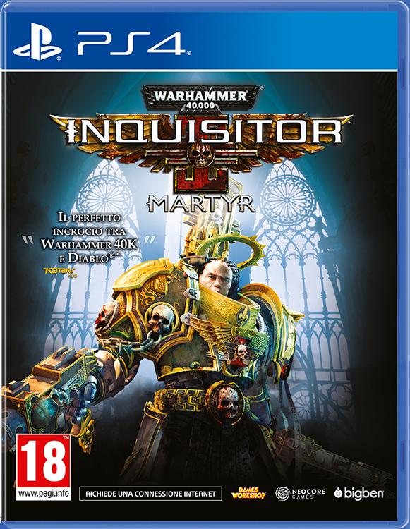 Warhammer 40,000: Inquisitor – Martyr - Packshot