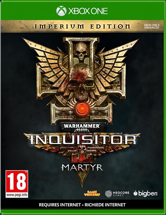 Warhammer 40,000: Inquisitor – Martyr – Imperium Edition - Packshot