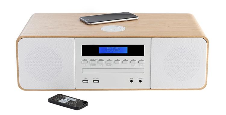 CD/MP3/USB micro system MIC201IBT THOMSON - Immagine