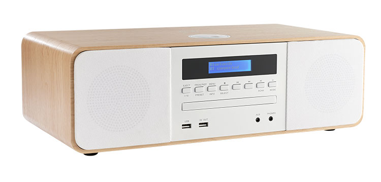 CD/MP3/USB/DAB+ micro system with wireless charger MIC201IDABBT THOMSON - Immagine#2tutu