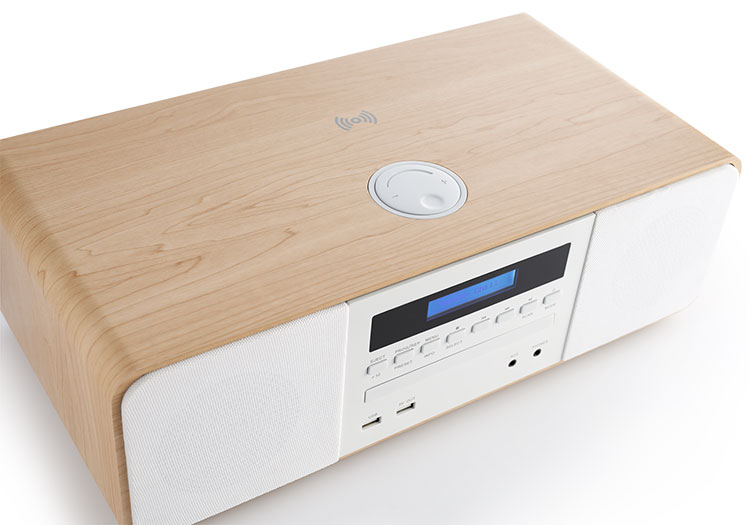 CD/MP3/USB/DAB+ micro system with wireless charger MIC201IDABBT THOMSON - Immagine#2tutu#3