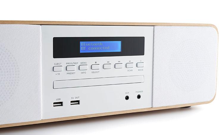 CD/MP3/USB/DAB+ micro system with wireless charger MIC201IDABBT THOMSON - Immagine#2tutu#4tutu#5