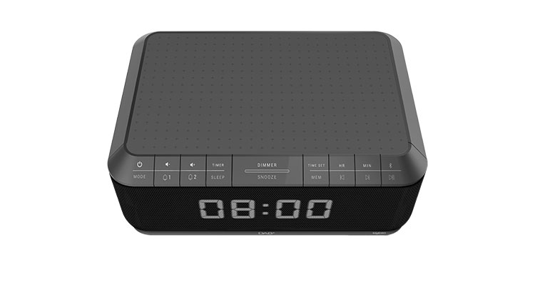 Clock radio with wireless charger/DAB+ RR140IGDAB BIGBEN - Immagine