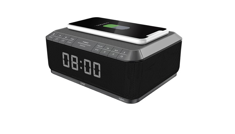 Clock radio with wireless charger/DAB+ RR140IGDAB BIGBEN - Immagine#1