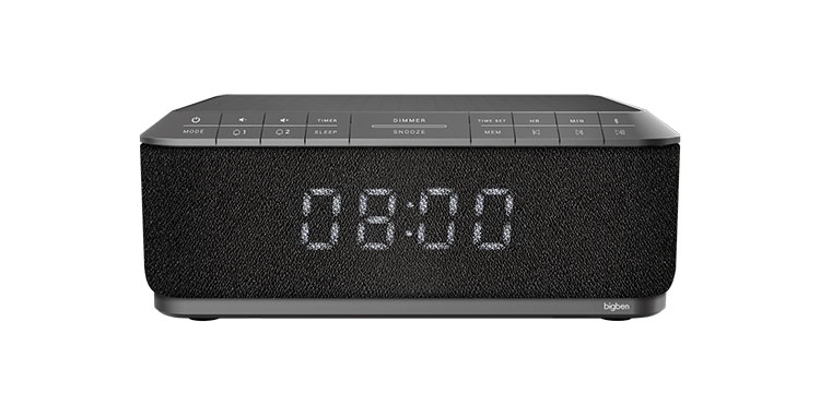 Clock radio with wireless charger RR140IG BIGBEN - Immagine