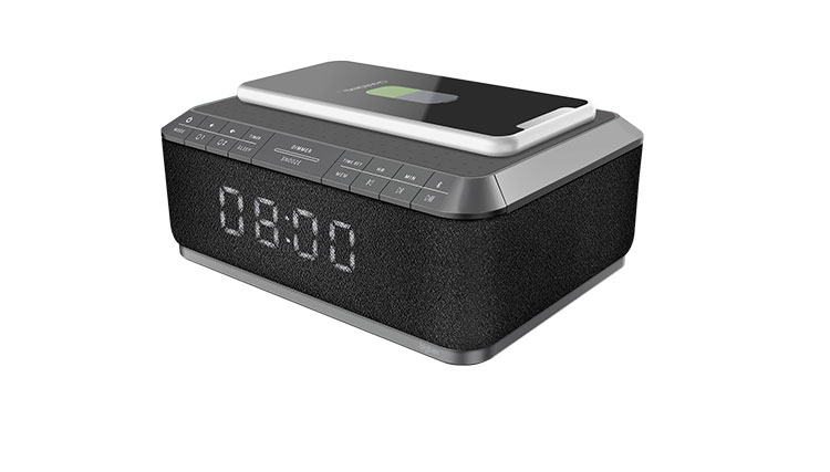 Clock radio with wireless charger RR140IG BIGBEN - Immagine#2tutu