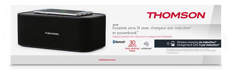 Wireless speaker and wireless charging WS06IPB - Immagine#2tutu#4tutu