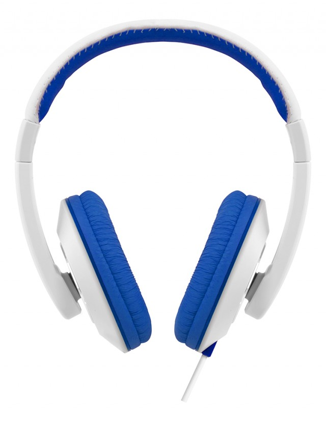 Colorblock Omega Headset (Blue + White) - Packshot