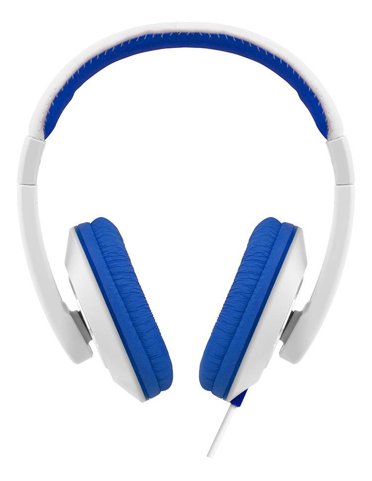 Colorblock Omega Headset (Blue + White) - Packshot