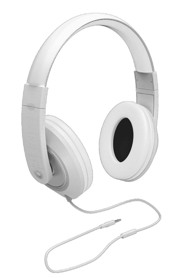 Colorblock Omega Headset (White) - Image   #1