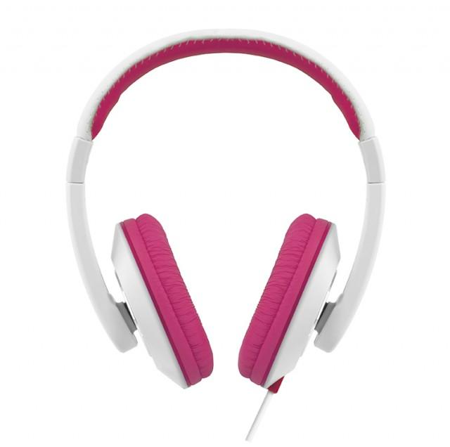 Colorblock Omega Headset (Pink + White) - Packshot