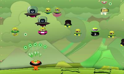 Cocoto Alien Brick Breaker - Screenshot