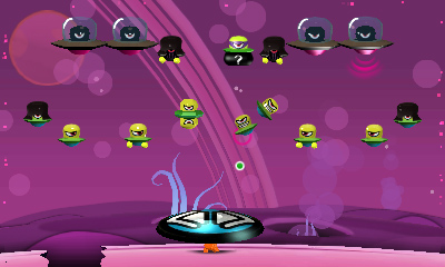 Cocoto Alien Brick Breaker - Screenshot #1