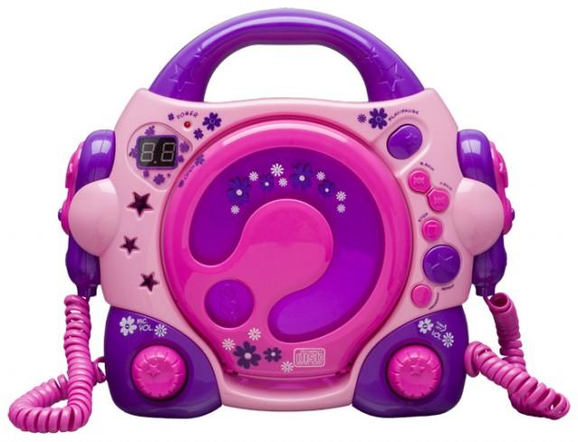 "Karaoke CD Player ""Lilly Rose"" - Packshot"