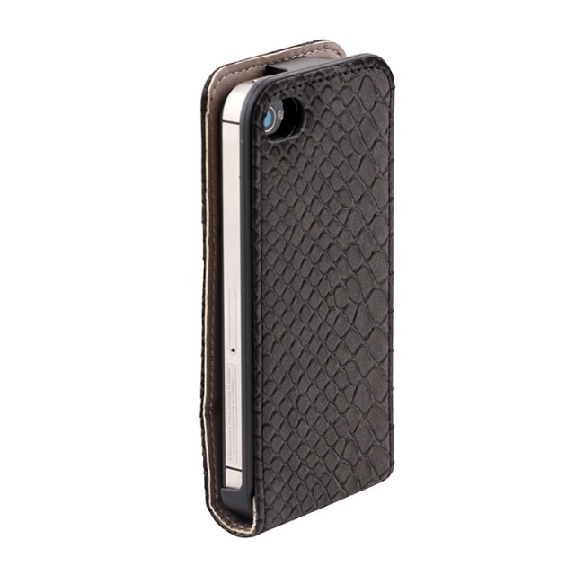 Flip case for iPhone® 4/4S (Grey) - Packshot