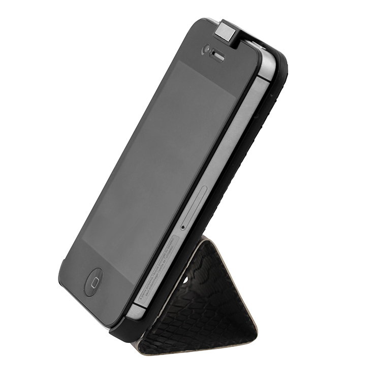 Flip case for iPhone® 4/4S (Grey) - Image   #3