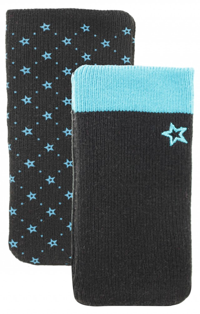 Set of two cotton sock (Black and Blue) - Packshot