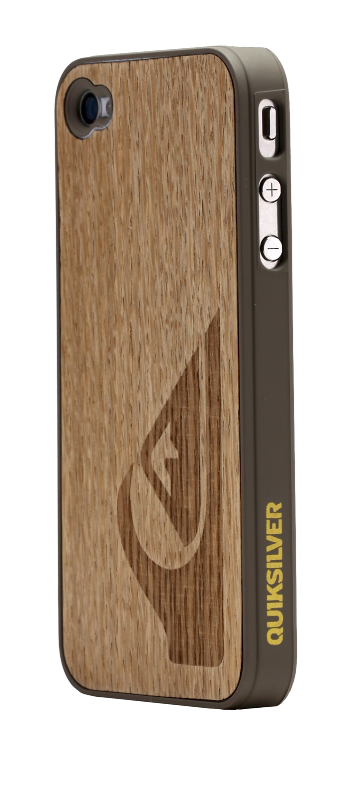 Quiksilver clear wood hard case for iPhone® 4/4S - Image   #1