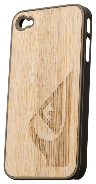 Quiksilver clear wood hard case for iPhone® 4/4S - Packshot